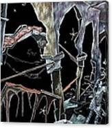 Amore - Dark Fantasy Drawings And Illustration - Dibujo Surrealista  Canvas Print