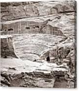 Amphitheater In Petra Canvas Print