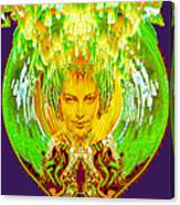 Amphora Of Fire Canvas Print