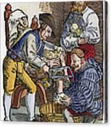 Amputation, 1540 Canvas Print