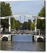 Amsterdam - Drawing Bridge Canvas Print