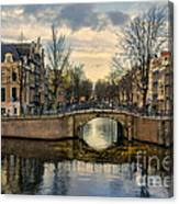 Amsterdam Bridges Canvas Print