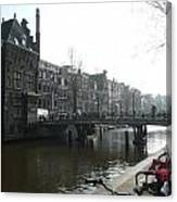 Amsterdam Canal II Canvas Print