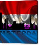 Amsterdam City Canvas Print