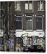 Amsterdam Graffiti Canvas Print