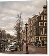 Amsterdam In A Nutshell Canvas Print