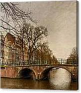 Amsterdam Panorama Canvas Print