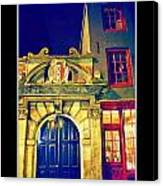 Amsterdam Postcard Canvas Print