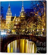 Amsterdam-rijkmuseum Canvas Print