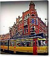 Amsterdam Transportation Canvas Print