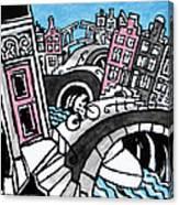 Amsterdam Wild Canvas Print