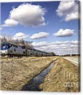 Amtrak 66  Canvas Print