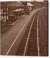 Amtrak Departure Canvas Print
