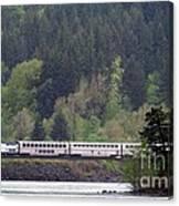 Amtrak Westbound Canvas Print