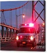 Amubulance  Canvas Print