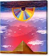 Amun Ra Canvas Print