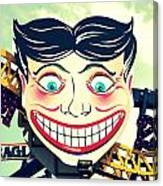 Amusement Smile Canvas Print