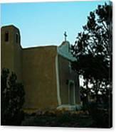 An Adobe Church In New Mexico Canvas Print
