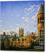 An Afternoon At Princeton Canvas Print