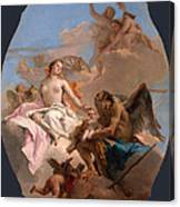 An Allegory With Venus And Time Canvas Print