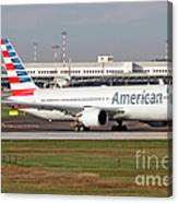 An American Airlines Boeing 767 Canvas Print