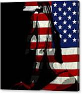 An American Woman Canvas Print