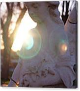 An Angel For Walter Canvas Print