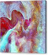 An Angels Love Canvas Print