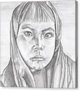An Apache Son Canvas Print