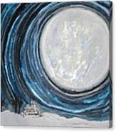 An Apparition Of The Moon  Canvas Print