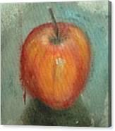 An Apple Canvas Print