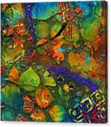 An Aquatic Wine Party Canvas Print