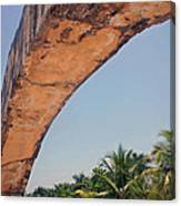 An Arch In Cozumela Canvas Print
