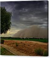 An Arizona Dust Storm  Canvas Print