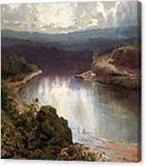 An Australian Fjord Canvas Print