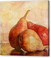 An Autumn Harvest II Canvas Print