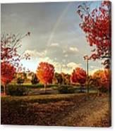 An Autumn Rainbow Canvas Print