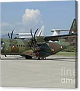 An Eads Casa C-295 Aircraft Canvas Print