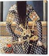 An Early Painting Of Fath Ali Shah Canvas Print
