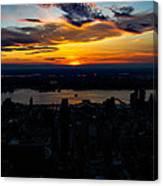 An Empire Sunset Canvas Print