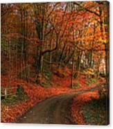An English Autumn Canvas Print