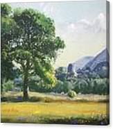 An Englishman's Castle Canvas Print