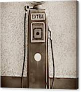 An Esso Petrol Pump From The First Half Canvas Print
