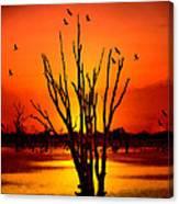 An Evening Canvas Print