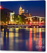 An Evening In Amsterdam Canvas Print