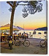 An Evening In Rovinj - Croatia Canvas Print