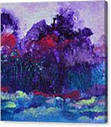An Evening In Spring Canvas Print