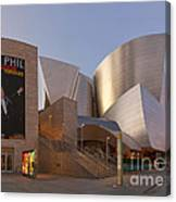 An Evening With Gustavo - Walt Disney Concert Hall Architecture Los Angeles Canvas Print