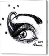 An Eye For Art Canvas Print