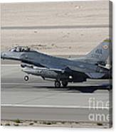 An F-16c Fighting Falcon Taking Canvas Print
